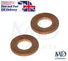 Ford Fiesta Mondeo Focus C-Max & C-Max Sump Plug Washers/Seal Ring x2 - 31340