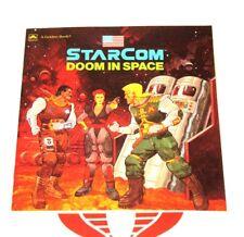 Starcom Book Doom In Space Story Book Golden Book NICE!