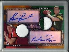 Matt Ryan-Brian Brohm 2008 Bowman Sterling Autograph Game Used Jersey #21/25
