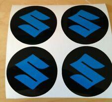 4x 80 mm fits suzuki bk wheel STICKERS center badge centre trim cap hub alloy