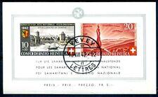 SCHWEIZ 1942 BLOCK7 gestempelt TADELLOS + ORIGINALGUMMI 300€(D4592