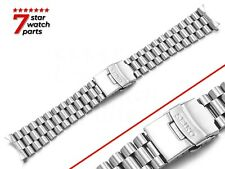 For SEIKO Watch SILVER President Steel Watch Strap Band Bracelet Clasp 20mm 22mm