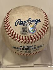 MLB Authenticated-NATS WIN #22!-Howie Kendrick Single & Brian Dozier Double Ball