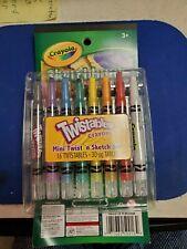 Crayola Twistables, Mini Twist 'n Sketch Set: 16 Twistables and 30 Page Tablet