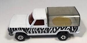 1973 Matchbox Superfast Rolamatics #57 Wild Life Truck Zebra Clean