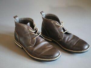 Original Penguin Mens Merle Chukka Boots Brown Leather Men's Size 10.5