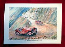 10 Vintage Alfa Romeo Print Portfolio by Rob Roy Ltd Ed Rare France n. Geo Ham