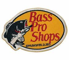 Bass Pro Shops Fishing Iron on Embroidered PATCHES