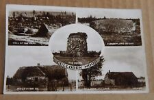 Postcard Culloden Moor Scotland  Real photo unposted with stamp