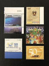 "COLOMBIA LOT 63 - ""Colombia Stamps"", MNH, 2007,2008,2018; CV $10+"