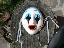 NUOVO Maschera Pierrot in porcellana da appendere 6