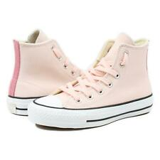 Converse Womens CTAS Pro Suede Backed Canvas High Top Shoes Pink 5 New