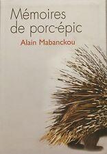 Mémoires de porc-épic - Alain Mabanckou - Culture et littérature  Africaine -