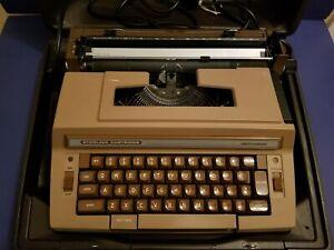 Vintage Smith Corona Sterling Cartridge Electric Typewriter & Case