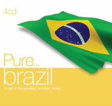 Various Artists - Pure... Brazil [New & Sealed] 4 CDs (cracked case)