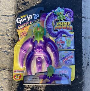 Galaxy Attack Goo Jit Zu Air Vac Orbitox Pump Power Stretch Figure Alien IN HAND