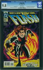 FLASH 92 CGC 9.8 WHITE PAGES NICE 1ST IMPULSE A4