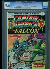 Captain America #184 CGC 9.6 (1975) Red Skull White Pages Only 7 Higher @ 9.8