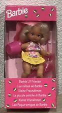 1993 Barbie Li'l Friends Summer Beach doll NRFB Heart Family Foreign Kelly