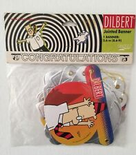 New Dilbert Comic Congratulations Jointed Banner 8.6 Ft Long