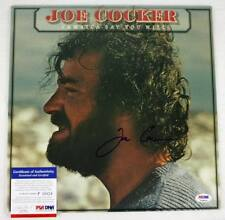 Joe Cocker Jamaica Say You Will Signed Album Cover PSA/DNA #P35824