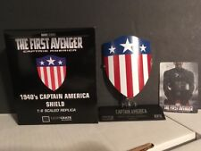 Captain America The First Avenger 1940's Shield 1:6 Scaled  Replica Loot Crate