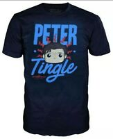 New Funko Pop Marvel Peter Tingle T-Shirt Collector Corps Exclusive