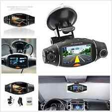 Dual Lens HD 2.7'' Camera Car Vehicle DVR Cam Dash Video Recorder Night Vision