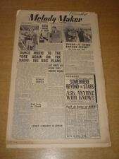 MELODY MAKER 1948 SEPTEMBER 4 BBC DINAH SHORE GERALDO ANDREWS SISTERS +