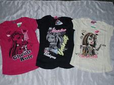 Vêtements t-shirts manches courtes pour fille de 2 à 16 ans en 100% coton Taille 8 - 9 ans