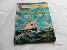 equipe cousteau en b d  , mystere de l'atlantide , d serafini , r laffont ,1988