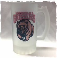 """University of Montana """"Grizzlies"""" Frosted Beer Stein"""