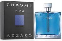 CHROME INTENSE by Loris Azzaro for Men Cologne 3.3 oz / 3.4 oz New in Box