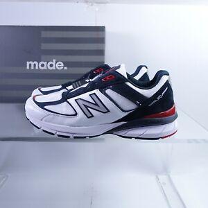 Size 7.5 Men's / 9 Women's New Balance 990V5 Sneakers M990NL5  Grey Carbon/White
