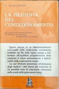 LA FILOSOFIA DEL CONDIZIONAMENTO - G. ALESSANDRINI - 1980