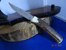 """MUELA 9"""" RED STAG ROLLED *FIXED BLADE* KNIFE 440A STAINLESS BLADE MADE IN SPAIN"""