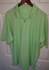 MEN'S COLUMBIA GREEN SS BF POLO SHIRT SIZE LARGE A2