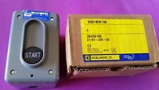 Square D Push Button Start Switch 9001BW146 9001 BW-146  * NOS