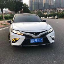 Fits 2018 Toyota Camry SE XSE Fog Lights Fog Lamps LED Daytime Running Lights