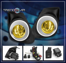 2011 2012 2013 TOYOTA COROLLA L LE S BUMPER JDM YELLOW FOG LIGHT LAMP+SWITCH KIT