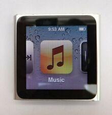 Apple Ipod Nano 6th generación 8GB Silver MP3 reproductor de música condición fantástica