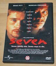 Seven - DVD - Brad Pitt / Morgan Freeman