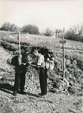 Massif des Vosges c. 1940 - Randonneurs Panneau Honneck- Grand Ballon- Div 11678