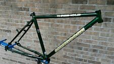 "NOS 90's Mongoose Threshold Frame 16.5"" Retro MTB Steel Commuter Tange Main 9a"