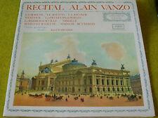 LP Récital ALAIN VANZO - Vogue LDM 30137 - 1972