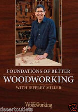 NEW! Foundations of Better Woodworking with Jeffrey Miller [DVD]