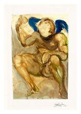 Divine Comedy Purgatory 15 by Salvador Dali A4 Art Print