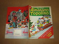 WALT DISNEY ALMANACCO DI TOPOLINO ALBI D'ORO N°1 GENNAIO 1961