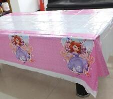 1pcs Decorations sofia table cover Birthday Party Supplies Tableware 108*180cm