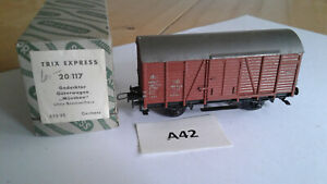 A42e Trix Express 20/117 H0 DB gedeckter Güterwagen - gebraucht